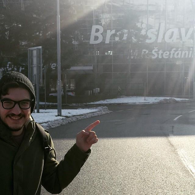 Bratislavaaaaaaa :) John Karayiannis - Eurovision Cyprus Representative 2015