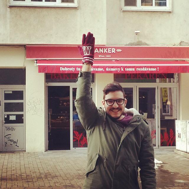 Being Silly In Bratislava :) John Karayiannis - Eurovision Cyprus Representative 2015